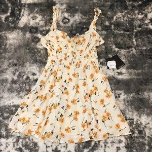 Reformation Elyse Limonada Dress Size 10 Nordstrom